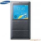 Bao Da Samsung Galaxy Note 4 S View Flip Cover Padding Chính Hãng Màu Xám Đen