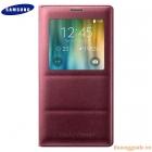 Bao Da Samsung Galaxy Note 4 S View Flip Cover Padding Chính Hãng Màu Đỏ