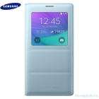 Bao Da Samsung Galaxy Note 4 S View Flip Cover Padding Chính Hãng Màu Xanh