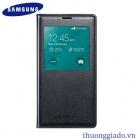 Bao Da S View Cover Chính Hãng cho Samsung Galaxy S5 Màu Đen