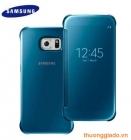 Bao Da Samsung Galaxy S6 G920f Clear View Cover Màu Xanh Da Trời Chính Hãng
