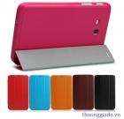 """Bao Da Samsung Galaxy Tab 3 7.0"""" Lite T111 Ultra Slim Leather Case BOOK Cover"""