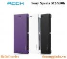 Bao da Sony Xperia M2/S50h (Hiệu Rock, Belief Series)