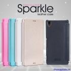 Bao Da Sony Xperia Z3/ L55 ( Hiệu NillKin, Spark Series Leather Case )