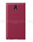 Genuine Samsung Galaxy Note 3 S View Cover Màu Đỏ Chính Hãng