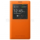 Genuine Samsung Galaxy Note 3 S View Cover Orange Chính Hãng