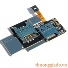 Khay Sim+thẻ nhớ Samsung Galaxy Note N7000,i717,i9220 Sim Card Tray Memory Holder Flex Cable