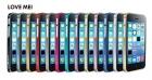 LOVE MEI 0.7 ultra-thin metal bumper for iPhone  5C