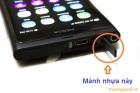 Mảnh nhựa che đậy chân sạc/cổng sạc usb Nokia Meego N9 và Lumia 800