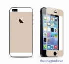 Miếng dán kính cường lực cho iPhone 5S, iPhone 5 ( Màu sắc đồng nhất với máy )