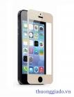 Miếng dán kính cường lực cho iPhone 5S, iPhone  5c ( Màu vàng champagne )