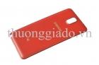 Nắp lưng/ Nắp đậy pin Samsung Galaxy Note 3 N900/ N9005 Chính Hãng Màu Đỏ Back Cover