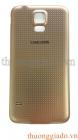 Nắp lưng (nắp đậy pin) Samsung Galaxy S5 (SM-G900) Chính Hãng, Màu Vàng