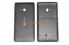 Nắp lưng, nắp đậy pin, vỏ Microsoft Lumia 540 Màu Đen Back Cover
