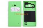 Nắp lưng,nắp đậy pin,vỏ Nokia Lumia 730 Màu Xanh