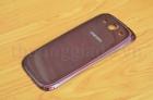 Nắp lưng Samsung Galaxy SIII/ i9300 Màu Đỏ Hàng Chính Hãng