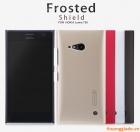 Ốp lưng sần NillKin cho Nokia Lumia 730 Super Frosted Shield