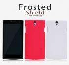 Ốp lưng sần NillKin cho Oppo Find 5 Mini R827 Super Shield Shell