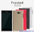 Ốp lưng sần NillKin cho Sony Xperia M2 S50h Super Frosted Shield