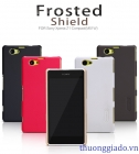 Ốp lưng sần NillKin cho Sony Xperia Z1 Compact Super Frosted Shield