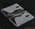 Ốp lưng BlackBerry PassPort Silver Edition,màu trắng (ốp silicone hiệu S-Line) TPU Case