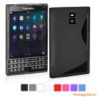Ốp lưng silicon cho BlackBerry PassPort Q30 Soft Protective Case (hiệu S Line)