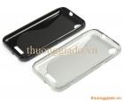 Ốp lưng silicon cho HTC Desire 320 D320 (Hiệu S Line) TPU Case