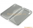 Ốp lưng silicon cho HTC Desire 626 (Hiệu S Line) Soft Protective Case