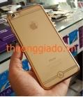 Ốp lưng silicon vàng gold cho iPhone 6 và iPhone  6 Plus ( Hiệu HOCO _ Black Series )