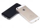 Ốp lưng silicon iPhone 5S_iPhone 5 (loại siêu mỏng, hiệu Rock, Ultrathin TPU Slim Jacket )
