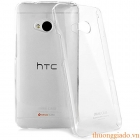 Ốp lưng trong suốt hiệu Imak cho HTC One (M7),802t Transparent Crystal Clear Hard Cover