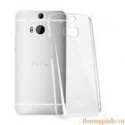 Ốp lưng HTC One (M8) nhựa cứng trong suốt hiệu Imak