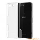 Ốp lưng Sony Z3 mini/Z3 Compact nhựa cứng trong suốt hiệu iMak