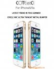 Ốp vành viền Bumper iPhone 5S/ iPhone 5/ iPhone SE hiệu COTeetCi (Guardian Series)
