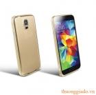 Ốp Vành Viền Bumper Samsung Galaxy S5/ SM-G900, hợp kim nhôm ( Hiệu Love Mei )