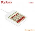 Pin AA (2A) Sạc Nhiều Lần ( Yoobao, YB-504) Chính Hãng