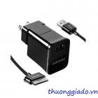 Củ sạc+Cáp usb cho Samsung Galaxy Tab P1000,P3100,P6200,P6800,P7300,P7500,N8000