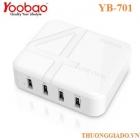 Sạc nhanh YOOBAO YB-701, Galaxy S5,iPhone 5S,One (M8),F400,iPad air,iPad 4