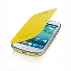 Samsung Galaxy S3 mini i8190 Flip Cover Chính Hãng Màu Vàng
