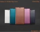 Samsung Galaxy S5/ SM-G900 Wallet Flip Cover Chính Hãng