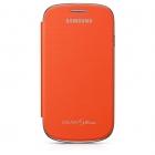 Samsung Galaxy S3 mini i8190 Flip Cover Chính Hãng Màu Cam