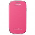 Samsung Galaxy S3 mini i8190 Flip Cover Chính Hãng Màu Hồng