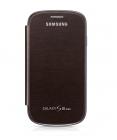 Samsung Galaxy S3 mini i8190 Flip Cover Chính Hãng Màu Nâu