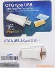 Samsung OTG 16GB - OTG type USB ( OTG & USB & Card )