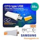 Samsung OTG 32GB - OTG type USB ( OTG & USB & Card ),Note 4,Note 3,G920f,G925f,N915