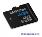 Thẻ nhớ Samsung Micro SD(TF) 4Gb Class 4 (Hàng chính hãng)