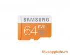 Thẻ nhớ samsung microSDHC 64gb UHS-I EVO Chính Hãng (Thế hệ mới) Note 3,Galaxy S5,Note 4