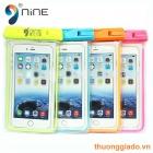 """Túi chống nước cho điện thoại 4.5""""-6"""" (Hiệu NiNE) Note 5, Note 4, iPhone 6"""