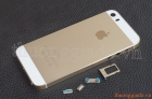 Vỏ iPhone 5S Gold ORIGINAL HOUSING