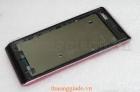 Vỏ Sony Xperia J ST26i Màu hồng Full Housing